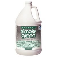 Degreaser, Crystal Simple Green, Industrial Strength Cleaner, No Added Scent, Container Size 1 Gallon